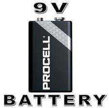 1x Duracell Procell 9V PP3 EN22 6F22 6LR61 LR22 MN1604 9 Volt Industrial Battery