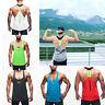 Bank Top Mens Gym Muscle Bodybuilding Training Running Singlet Fitness Vest Hot