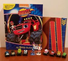 Blaze and the Monster Machines My Busy Book +10 Character Figurines & Playmat