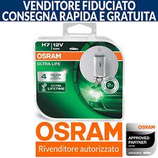 OSRAM Ultra Life H7 Long Life Lunga Vita Lampade Faro (Doppia)