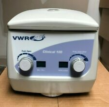 VWR Clinical 100 centrifuge sold with accredited calibration