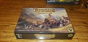 Defenders Of The Realm Battlefields Fantasy Board Game Eagle Games + Bonus pcs.