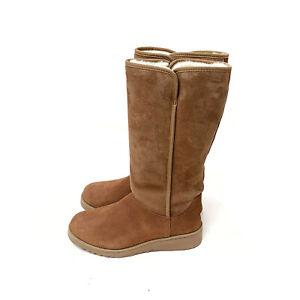 UGG Australia Kara Classic Tall Slim Boot Chestnut Size US: 7 / EU: 38