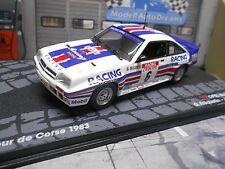 OPEL Manta 400 Rallye TdC Corse Frequelin 1983 Rothm. IXO Altaya Rarität SP 1:43