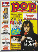 Pop mit Melody Maker Nr.7 von 1976  Sailor, Udo Lindenberg, Beatles, Genesis....