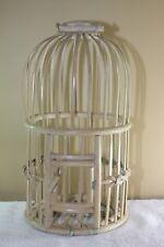 Handmade Vintage Rattan Bird Cage Small