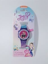 Jojo Siwa Digital Girls Watch Kids Lcd Flashing Rainbow Wristwatch Nickelodeon