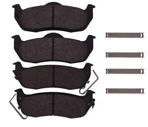Disc Brake Pad-Ceramic Pads Rear,Front Dash 4 Brake CD1041 04-11 Titan Rear