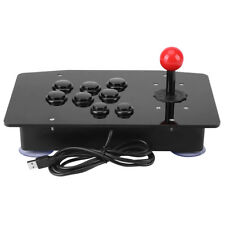 Zero Delay USB Wired PC Video Game Controller Arcade Game Joystick Black Buttons