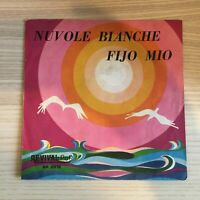 """Sandra / Tony Arden _ Nuvole Bianche / Fijo Mio _ Copertina 45giri 7"""" _ Italy"""
