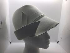 New listing Mr. John Jr Vintage Wool Felt Hat Cloche Bucket Gorgeous Ivory