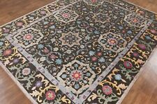 New Leslie 8'x10' Durable Hand Knotted Antique Old Style Silk & Woolen Area Rugs