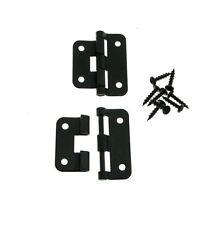 2 NEW Genuine Penn Elcom Black Take-Apart / 2 Piece Lift Off Hinge with Screws