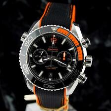 bnib OMEGA SEAMASTER Planet Ocean Chrono ORANGE 46mm CoAxial 215.32.46.51.01.001