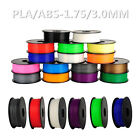New 3D Printer Filament 1.75 mm ABS/PLA 1kg/2.2lb MarkerBot Printing Consumables