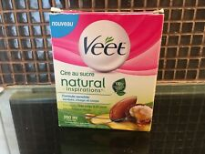VEET NATURAL SUGAR WAX WARM INSPIRATIONS WITH NATURAL ARGAN OIL 250ml FOR BODY