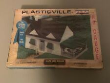 Plasticville Cape Cod House Kit No. 2617 White with Green HO Scale Original Box