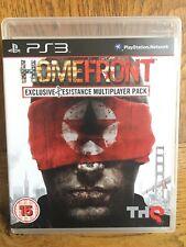 HOMEFRONT Resist Edition (non sigillata) - PS3 UK Versione Nuovo!