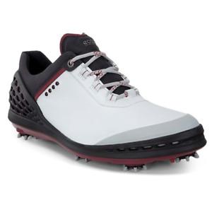 Ecco Cage Hydromax Golf Shoes White Black 13250451227 Size 13-13.5 Mens