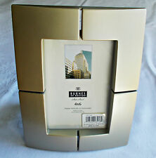 Burnes of Boston frame 4 x 6 inches Luxor Champagne NIB gold tone metal tabletop