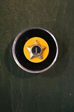 """BOY CUB SCOUT """"1 YEAR SERVICE"""" RECOGNITION AWARD PIN  w/Yellow Backing) - BSA"""