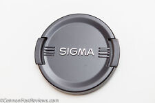 GENUINE ORIGINAL SIGMA 72MM PINCH FRONT LENS CAP 17-70mm 18-35mm 18-50mm 18-300m