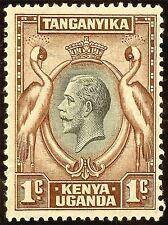 STAMP TANGANYIKA KENYA UGANDA CRESTED CRANE ART POSTER PRINT LV3915