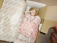 Shirley Temple Dolls of the Silver Screen In Original Box