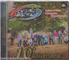 Banda Sinaloense MS De Sergio Lizarraga CD NEW 10 Aniversario Nuevo SEALED