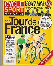 Cycle Sport Magazine UK Summer 2013 Tour de France Essential Race Guide