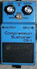Boss CS-1 Compression Sustainer Vintage Guitar Pedal - SS MIJ Compressor CS1