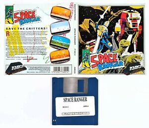 "©1987 Commodore Amiga/Mastertronic SPACE RANGER 3,5"" Diskversion/16bit Arcade"