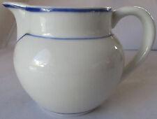 VIANA DO CASTELO PORTUGAL BLUE & WHITE PORCELAIN PITCHER