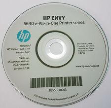 CLONE-stampante HP CD driver software DISCO PER ENVY 5640 All in One Series