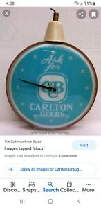 Want to buy Carlton Draught Clock like picture