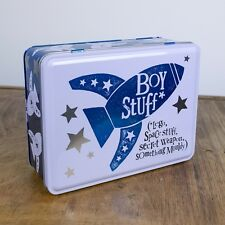 Boy Stuff Tin Storage Fun gift The Bright Side New
