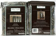 """2 Count Allen & Roth 0042629 Raja 50"""" X 84"""" Steel 100% Polyester Pole Top Panel"""