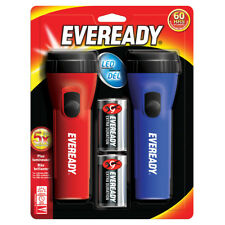 Energizer - Eveready EVEL152S LED Flashlight Twin Pack batteries included New