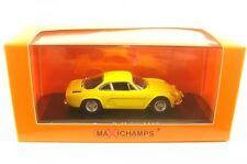 1 43 Minichamps Renault Alpine A110 1971 Yellow