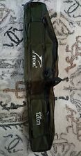 FDDL 120cm Canvas Fishing Pole Tool Storage Bag Fishing Rod Tackle Carry K9M4