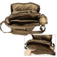 Men Tactical Messenger Shoulder Sling Bag Molle Crossbody Pack Outdoor