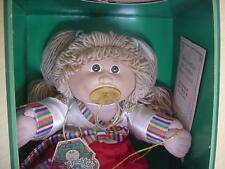 CABBAGE PATCH TSUKUDA IN KOREAN DRESS DOLL W/BOX AND PAPERS!