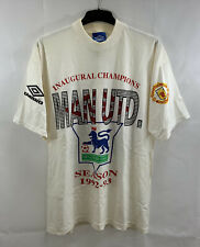 Manchester United Inaugural Champions Football Shirt 1992/93 (XL) Umbro A511