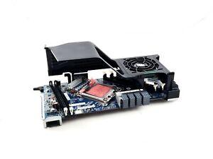 HP Z620 2nd CPU Riser Board w/Fan & Bracket - 618265-001