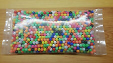 Bulk Multi Coloured,8mm Rig Making Beads,Inc Luminous.Well Over 1000 P/Pack