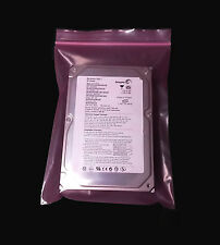 "20 6x8"" Antistatic Pink Ziplock 4 Mi HeavyDuty Bags Reclosable Harddrive IDE"