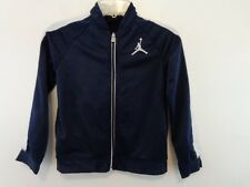 NIKE AIR JORDAN Boy Track Jacket Sz Large (7) Blue/White