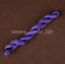 1Roll 24Meter 1mm Nylon Macrame Braided Bracelet Rattail Cord Thread String Rope