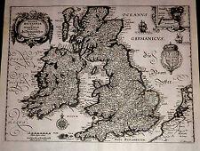 Antique map, Magnae Britanniae et Hiberniae Tabulae