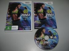 Zumba 2 For Nintendo Wii Tested & Working In As New Condition